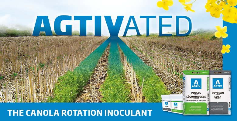AGTIV the canola rotation inoculant
