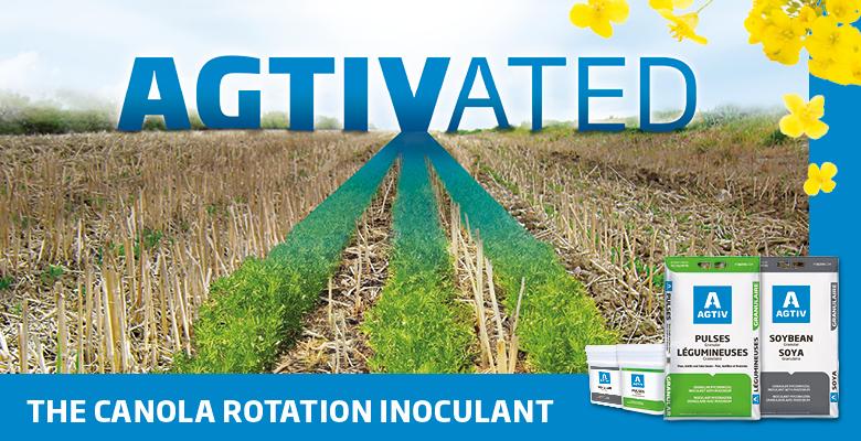AGTIV the canola rotation inoculant