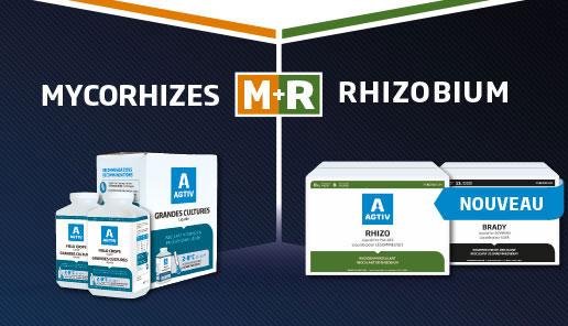 AGTIV inoculant liquide – mycorhizes et rhizobium