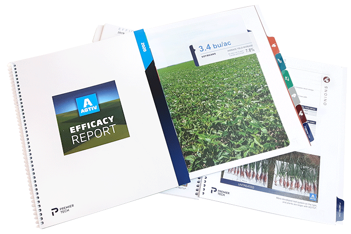 Yield datas | AGTIV highly effective inoculants