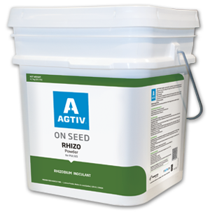 AGTIV rhizobium inoculant for ON SEED powder application