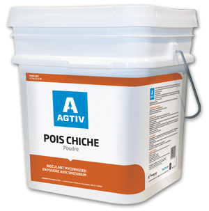 AGTIV CHICKPEA Powder with mycorrhizae and rhizobium