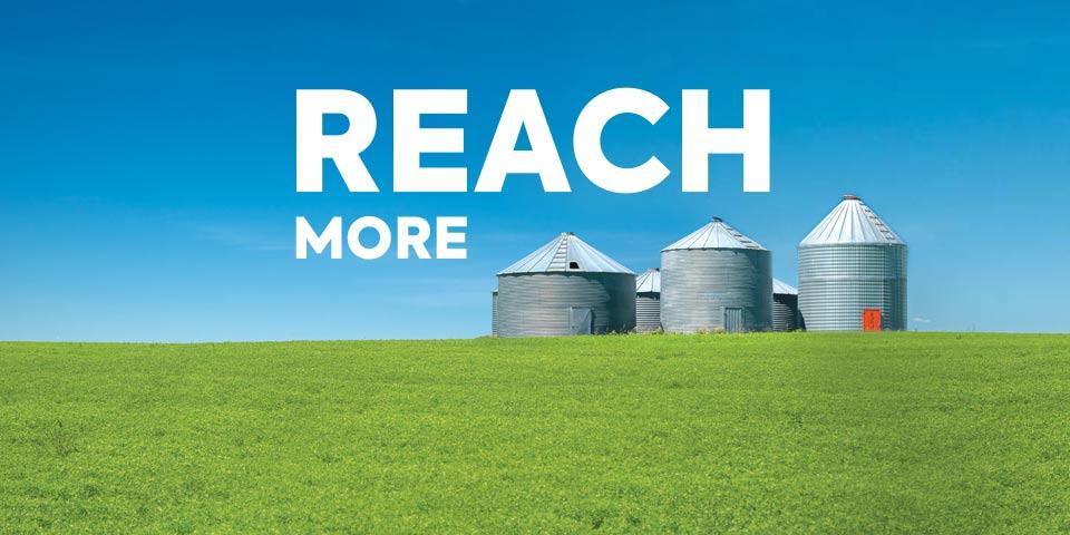 Reach more with AGTIV reliable inoculants (mycorrhizae and rhizobium)